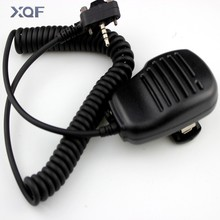 Плечо Спикер Микрофон Для Vertex Standard VX210 VX228 VX230 VX231 VX298 VX300 VX350 VX351 VX354 VX400 VX410 Двухстороннее Радио