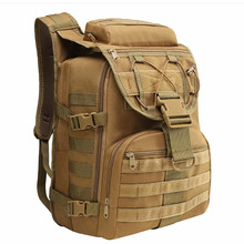 35L Military Assault Bags Molle Tactical Backpack Water Resistant Army Rucksack Outdoor Sport For Climbing Camping