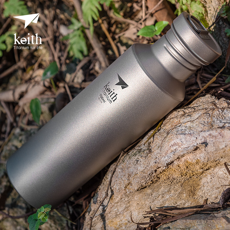 Keith Outdoor Sports Titanium Water Bottles, Lightweight, 400ml, 550ml, 700ml цена