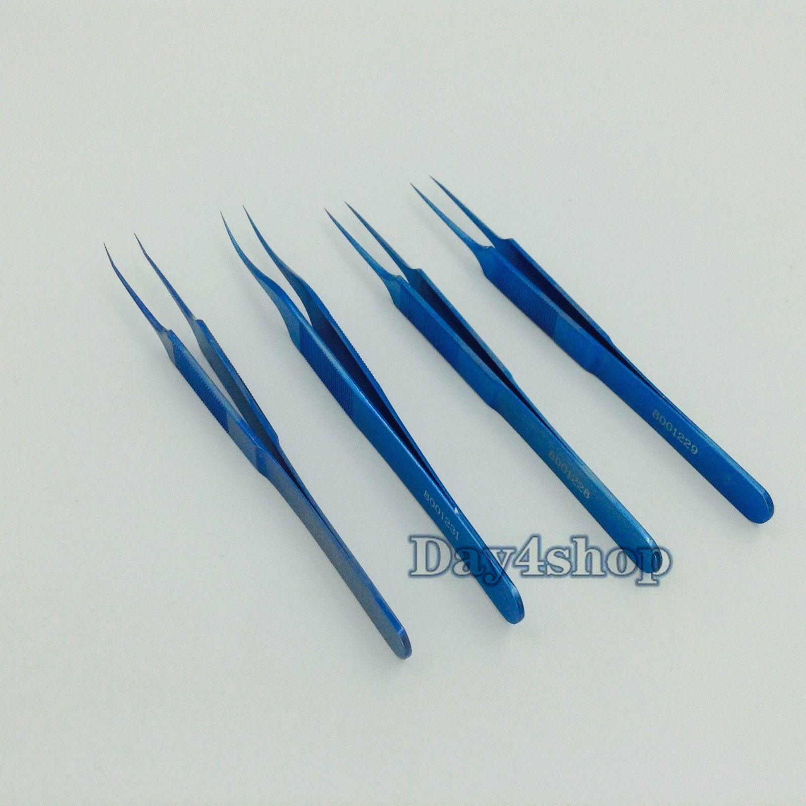New 4pcs/set different Jeweler Style Forceps ophthamic surgical Dental instruments extracting forceps 15 dental surgical instruments