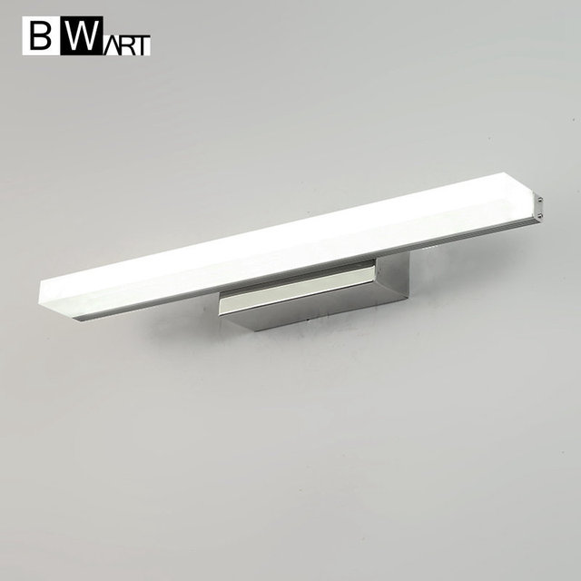 BWART Indoor 40/60/80100/120CM LED Wall Lamps AC85-265V Aluminum Decorate waterproof Wall Sconce bedroom LED Wall Light