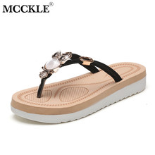 MCCKLE Women Platform Slippers Owl Flip Flops For Ladies Summer Female Beach  Shoes Metal Flat Shoe 9d95b70afbfb