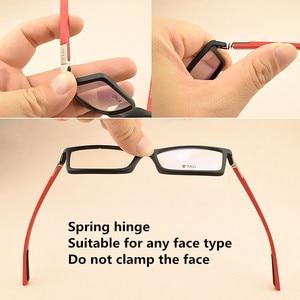 Image 4 - Hezekiah monture de lunettes Vintage pour hommes et femmes, 2019 étiquette de styliste, monture dordinateur rétro, métal, myopie, nerd 0512