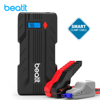 Beatit BT B7 1200A Peak 15000mA Portable Car Jump Starter Auto Battery Booster Pack Phone Charger with Dual USB Port Power Bank
