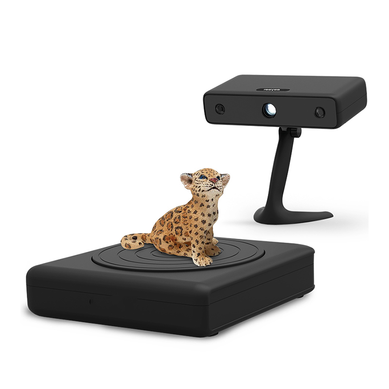 Precision 0.1mm Max 700mm White light Industrial-level 3D Scanner for Mold industry 3d max