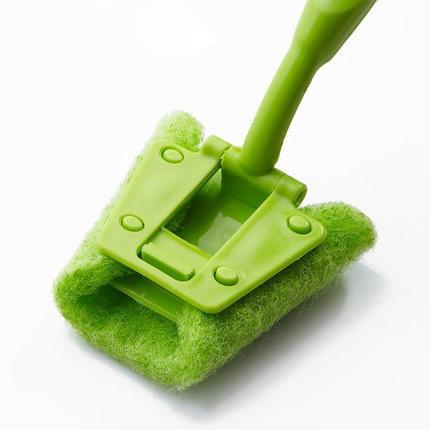 For dec ontamination brush cleaning brush long handle sponge brush pot magic cleaning stick clean