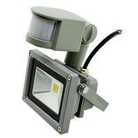 Ultrathin LED Flood Light 10W 20W 30W 50W PIR Motion Sensor Outdoor Lighting Waterproof IP65 Induction