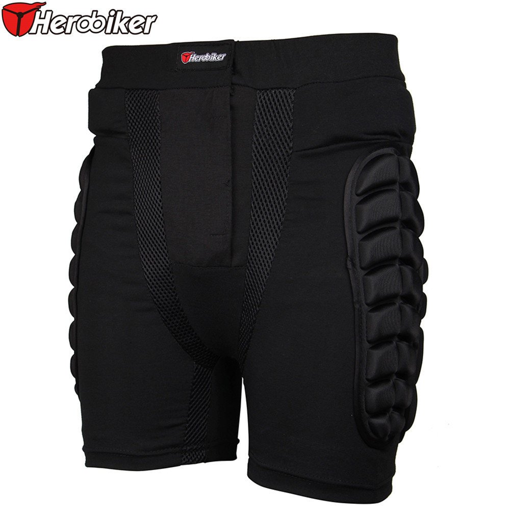 Herobiker Motorcycle Armor Shots Unisex Outdoor Sports Skiing Shorts Hip Protection Motorcycle Shorts Motorcross Protective Gear