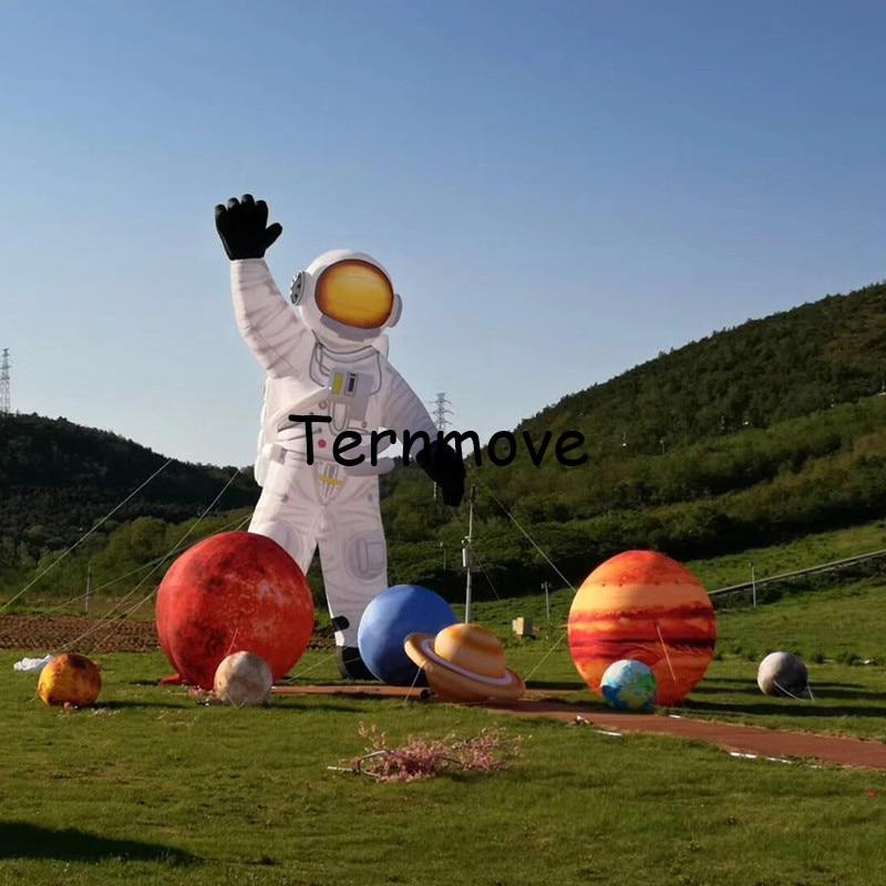 Géant gonflable planète ballons solaire galaxie enseignement modèle ballons dans le système solaire enfants gonflable jouet fête décoration