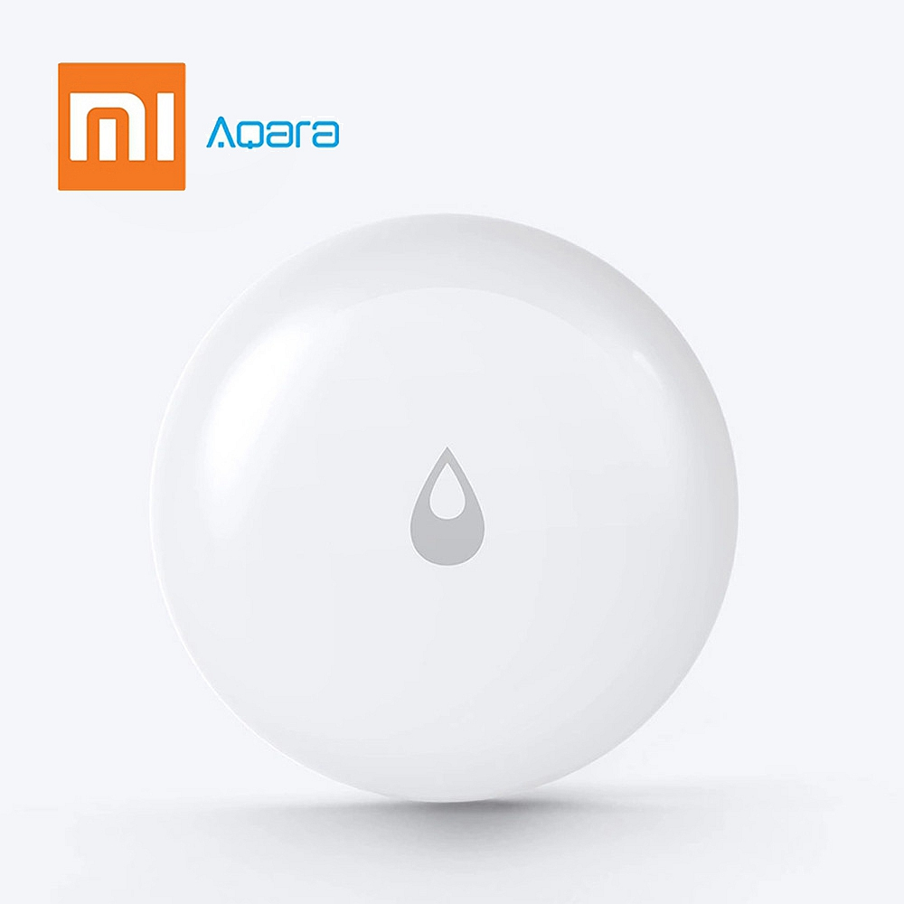 Xiaomi Aqara Water Immersing Sensor Flood Water Leak Detector Zigbee System Remote Alarm Security Soaking Sensor For Smart Home