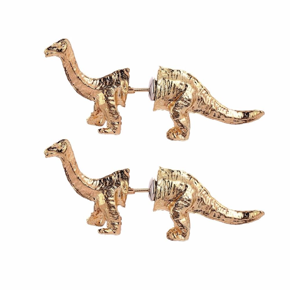 Argent sterling T Rex Dinosaures/ /Boucles dOreille Vert Paillettes