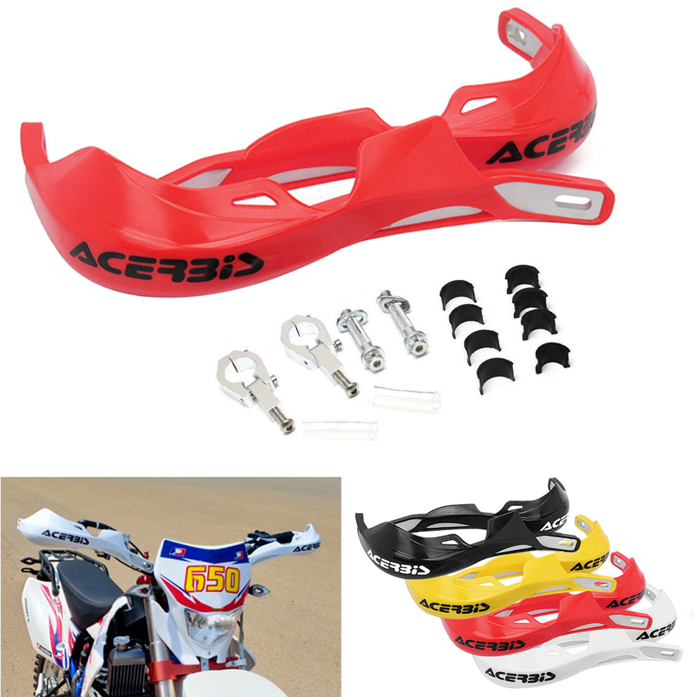 1 Pair Motorcycle 22mm 28mm Handlebar Hand Guards Handguard Protector Motocross Dirt Pit Bike Off Road-in Falling Protection from Automobiles & Motorcycles