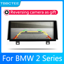Android 2 Din Car radio Multimedia Video Player auto Stereo GPS MAP For BMW 2 Series Cabrio 2013-2016 NBT Media Navi Navigation цена