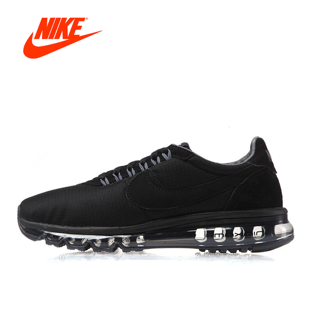 7cd9ad338b0 Original Official NIKE AIR MAX Men s Breathale Low Top Running Shoes  Sneakers Outdoor Breathable Comfortable Athletic 848624