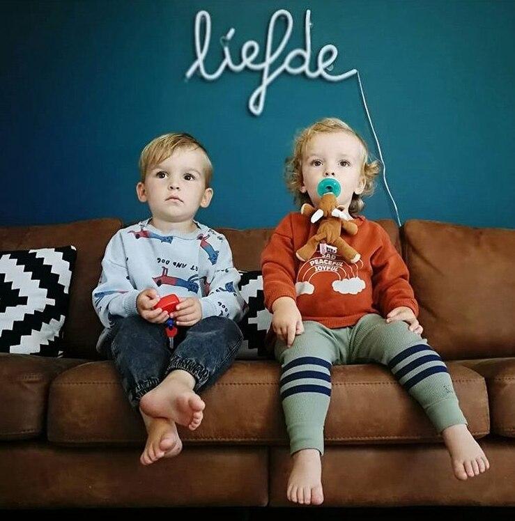 Bobo Choses Autumn Winter Kids Clothes Long Sleeve T-shirt Cartoon Animal Boys Sweatshirts Baby Girls Sports Tees Tops #2