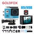 GOLDFOX H9 Action camera H9R Ultra HD 4K WiFi Sport Dv 1080P Full HD Video Camera 30M Go Waterproof Pro Action Bike Helmet Cam