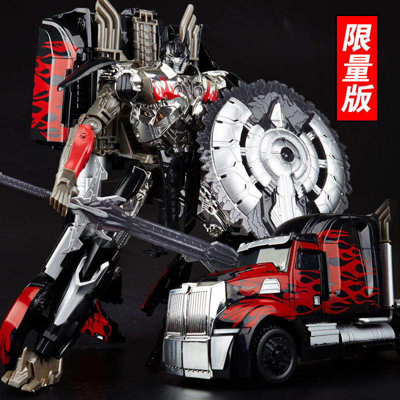 2018 W8004C Wei Jiang Dark Black OP Transformation Commander Collection Leader Oversized Robot Action Figure Toys new in stock wei jiang weijiang transformation op commander trailer for mpp10 model oversized action figure robot toy