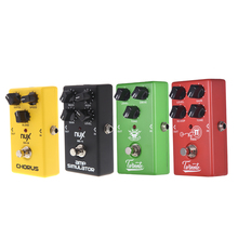 Nux Guitar Pedal 4 Effects Chorus Sound Screen /overdrive /high -gain /simulator Guitar Effect Pedal Guitar Accessories portable guitar effectors effect pedal synthesizer with 5 effects reverb chorus flanger overdrive wow wah built in rechargeable