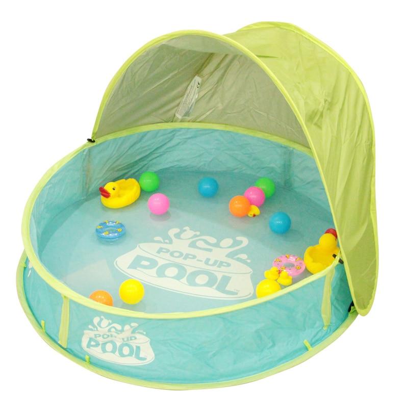 ФОТО 95*20*70cm Foldable Large PVC Children Swimming Pool Children Play Ground With Ocean Ball Play Pool Baby Bath  Baby Play Basin