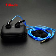 Recommend ! New Version2 / Hifi T-Music DIY Earphone / 3.5mm In-Ear Headset with microphone(China)