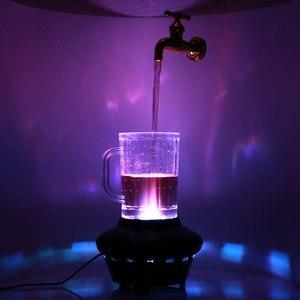 Image 5 - Magia kran lampy zawieszone krany żółty wtrysku formowania LED dekoracyjne ozdoby 220V z tworzywa sztucznego przenośny trwały wyposażenia wnętrz