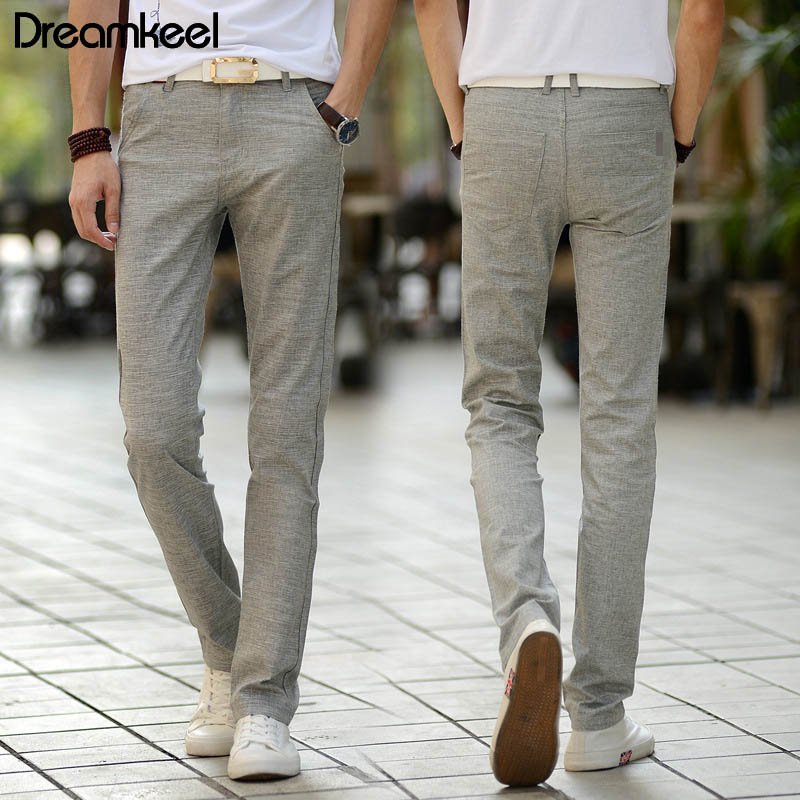 Pants Men Trousers Linen Fitness Harajuku Casual Harem Chinese Summer Male Traditional