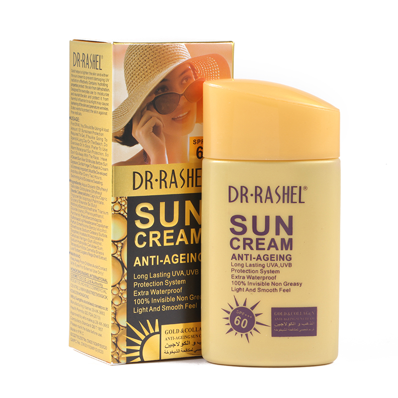 DR Rashel Gold Anti ageing sunscreen whitening UV Radiation font b sun b font font b