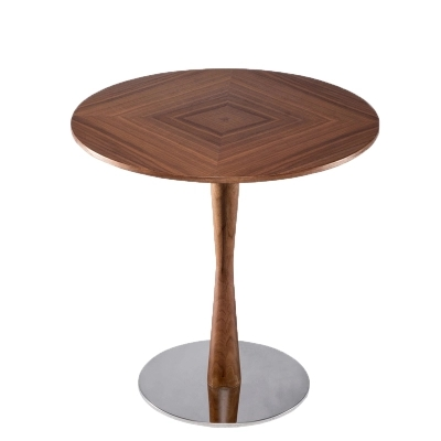 154 56 Nordique Minimaliste En Bois Massif Creatif Petite Table Canape Table D Appoint Table Basse Ronde Table Basse In Tables Basses From Meubles