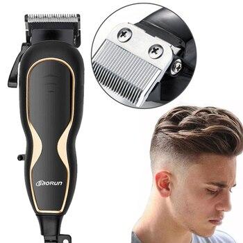 BaoRun Stumm Ultra Power Haar Clipper Professional Electric Haar Cutter Barber Salon Männer Haar Schneiden Maschine Mit Schnur 220V