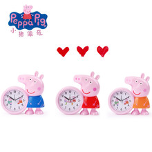 Peppa Pig Little Child Electronic Computer Student Clock Watch Action Character Toy Children Gift