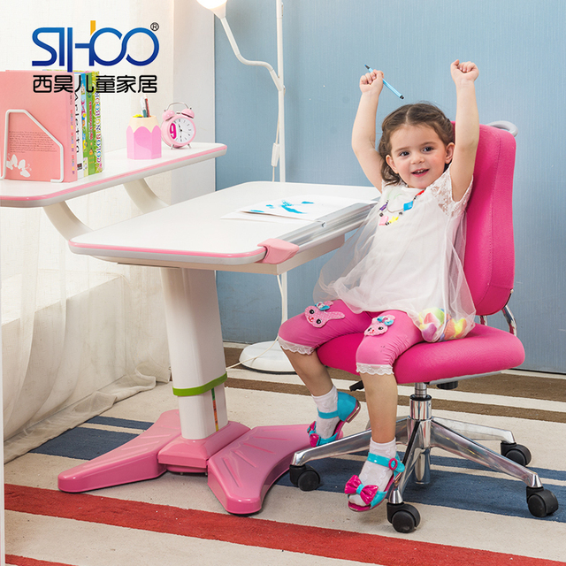 West Hao suit lifting tables and chairs for children to learn desk desk wooden desk study tables and chairs for children free sh