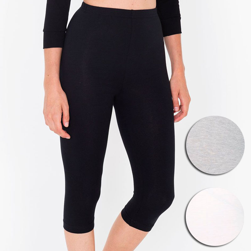Bohocotol Women Brand New Fashion Candy Solid Colour High Waist Stretched   pants   Casual Fitness 7 Point workout   pants     Capris