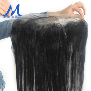 Image 5 - Brazilian Hair Weave Bundles With Closure Straight 32 34 36 38 40 inch Human Hair Bundles With Lace Frontal 13x4 Transparent