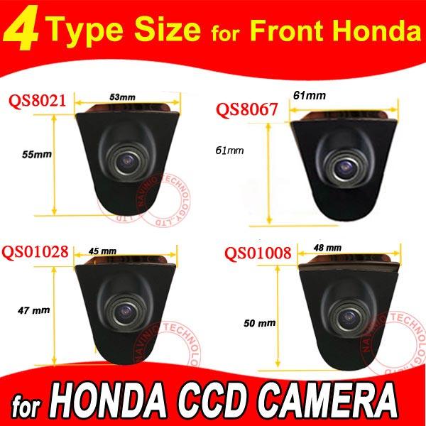 Barva CCD Logo vozidla Přední pohled na Honda Odyssey Nová dohoda Civic CRV Spirior Crosstour