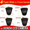 Cor CCD logotipo Veículo vista Frontal da câmera para Honda Odyssey Novo accord Civic CRV Spirior Crosstour
