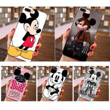 Soft Case For Huawei nova 2 Plus 2S 3i 4 Y3 Y5 II Y6 Y7 Y9 Lite Plus Prime 2017 2018 2019 Mickey Minnie Mouse(China)