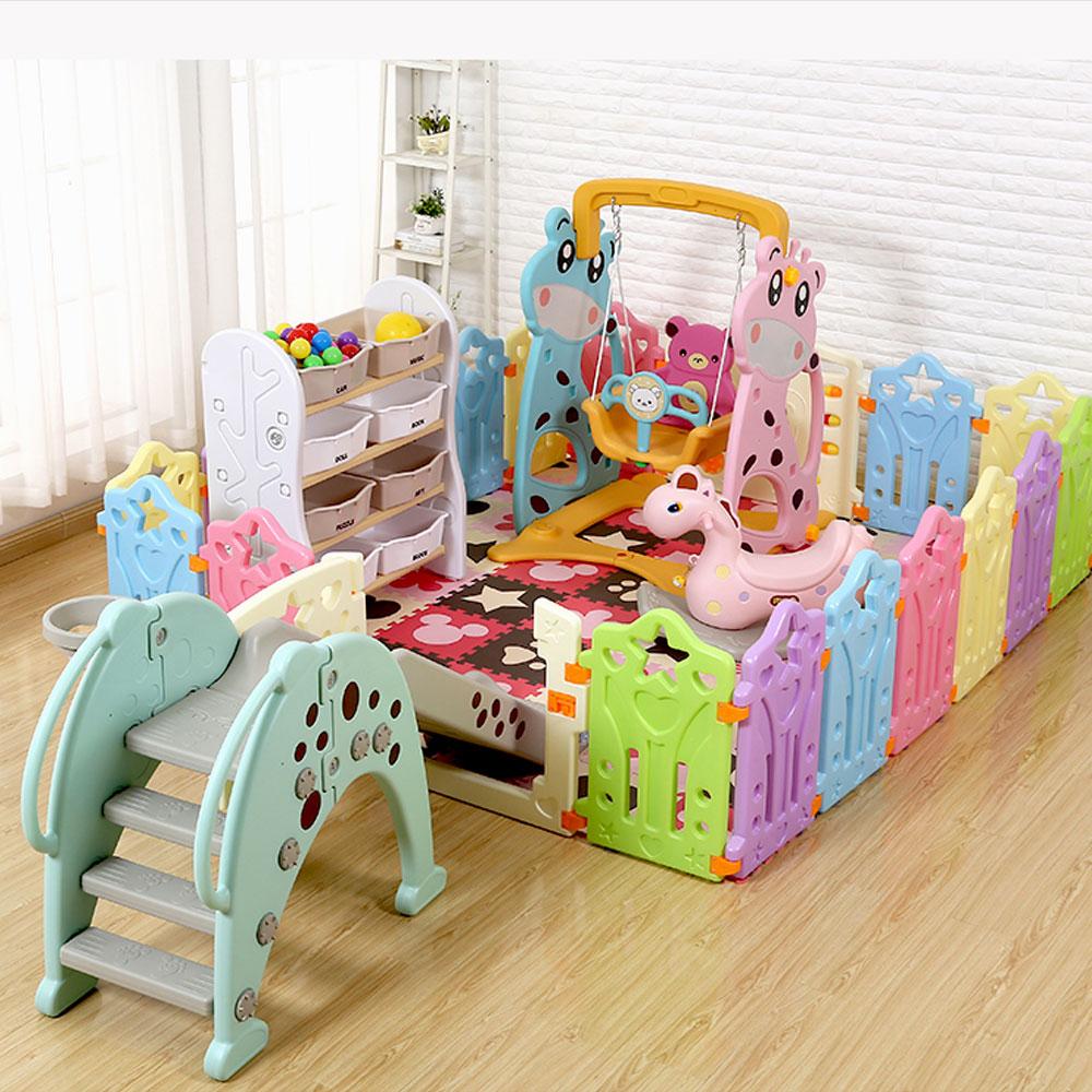 Parc bébé clôture d'intérieur pour enfants équipement d'activité Protection de l'environnement barrière jeu barrière de sécurité jeu éducatif cour de jeu