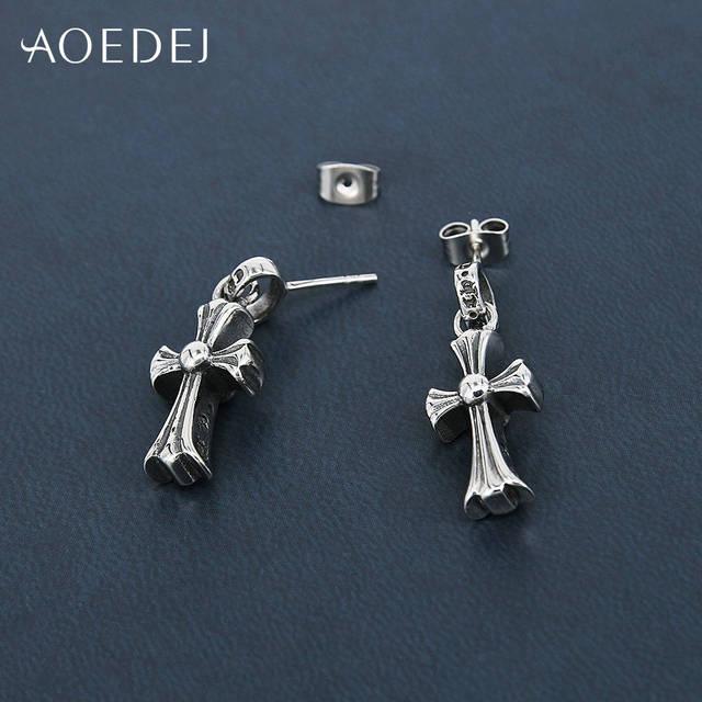 BTS Jimin Cross Style Earrings