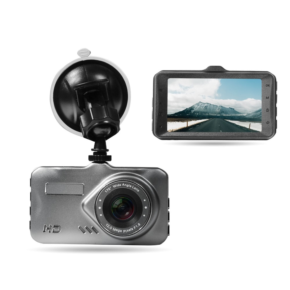 AKASO <font><b>Car</b></font> Video Recorder 3.0 <font><b>inch</b></font> IPS HD display <font><b>Car</b></font> <font><b>DVR</b></font> <font><b>Camera</b></font> Dashcam Full HD 1080P Support 128 GB Night Vision Dash Cam image