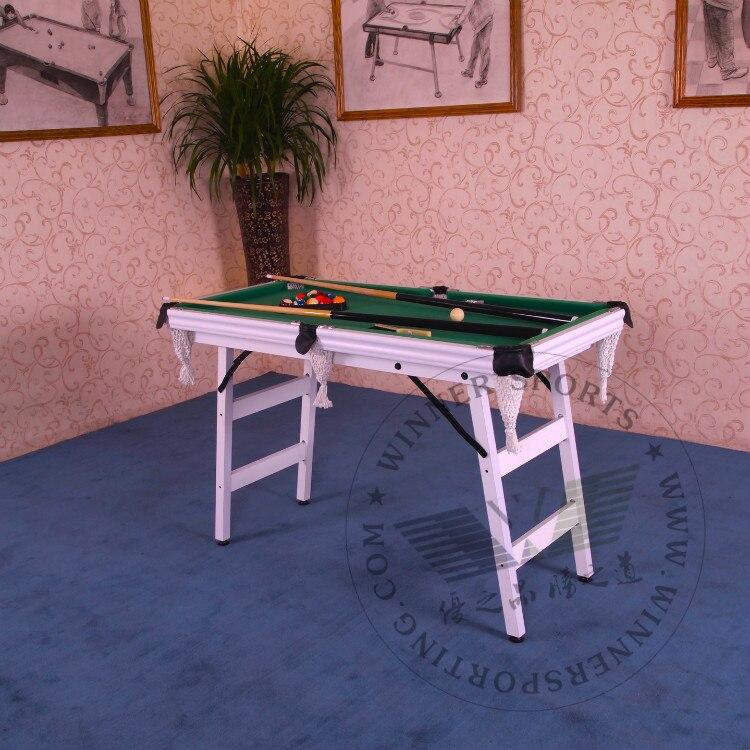 48 Inch Folding american pool table biilard table family using billard table small size foldable pool ball of toy