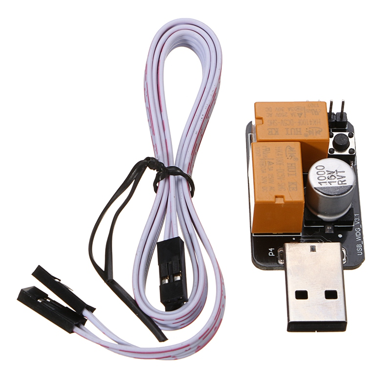 USB Watchdog Timer Card module Automatic Restart Hardware WatchDog USB For Mining BTC Gaming Computer PC With Power-on Key