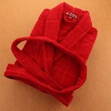 Thicken blanket towel flee bathrobe male Winter Autumn Casual Dressing Gown Long Bathrobe Men Sleepwear Free Shipping winter