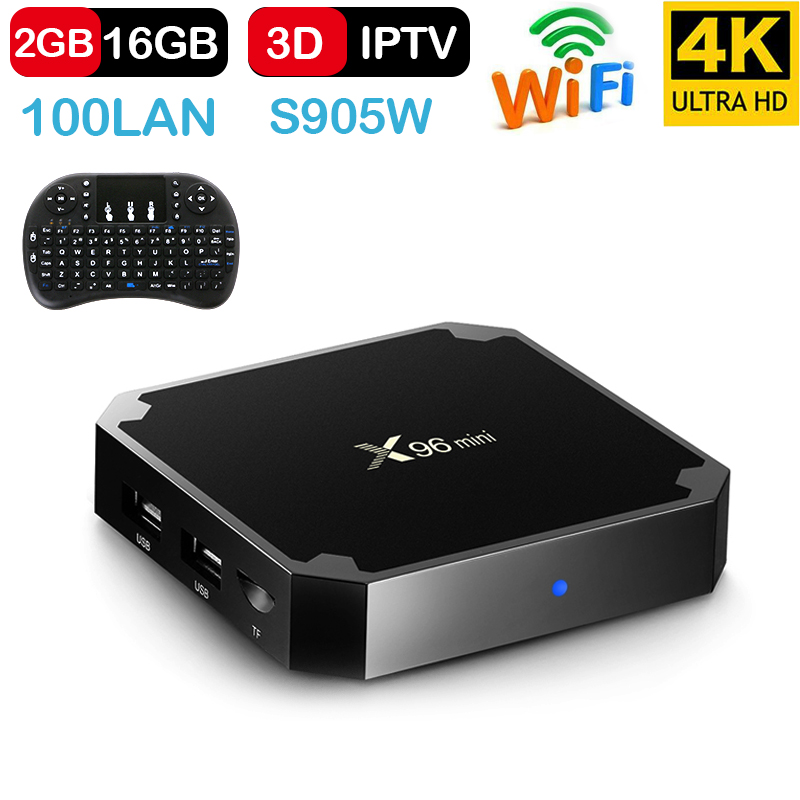 X96 mini Android TV BOX 7 1 OS Smart TV Box 2 GB 16 GB Amlogic