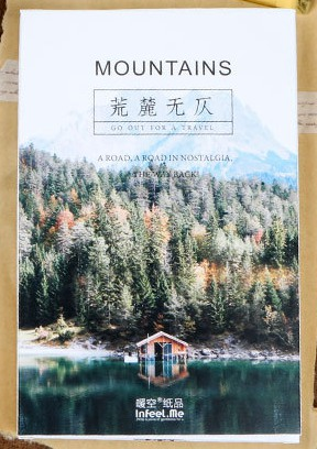 143mm*93mm Green Mountain Paper Postcard(1pack=30pieces)