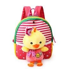 1 3 Years Old Baby Girl Boys School Bags With Cute Cartoon Bear Cat Kids Brithday