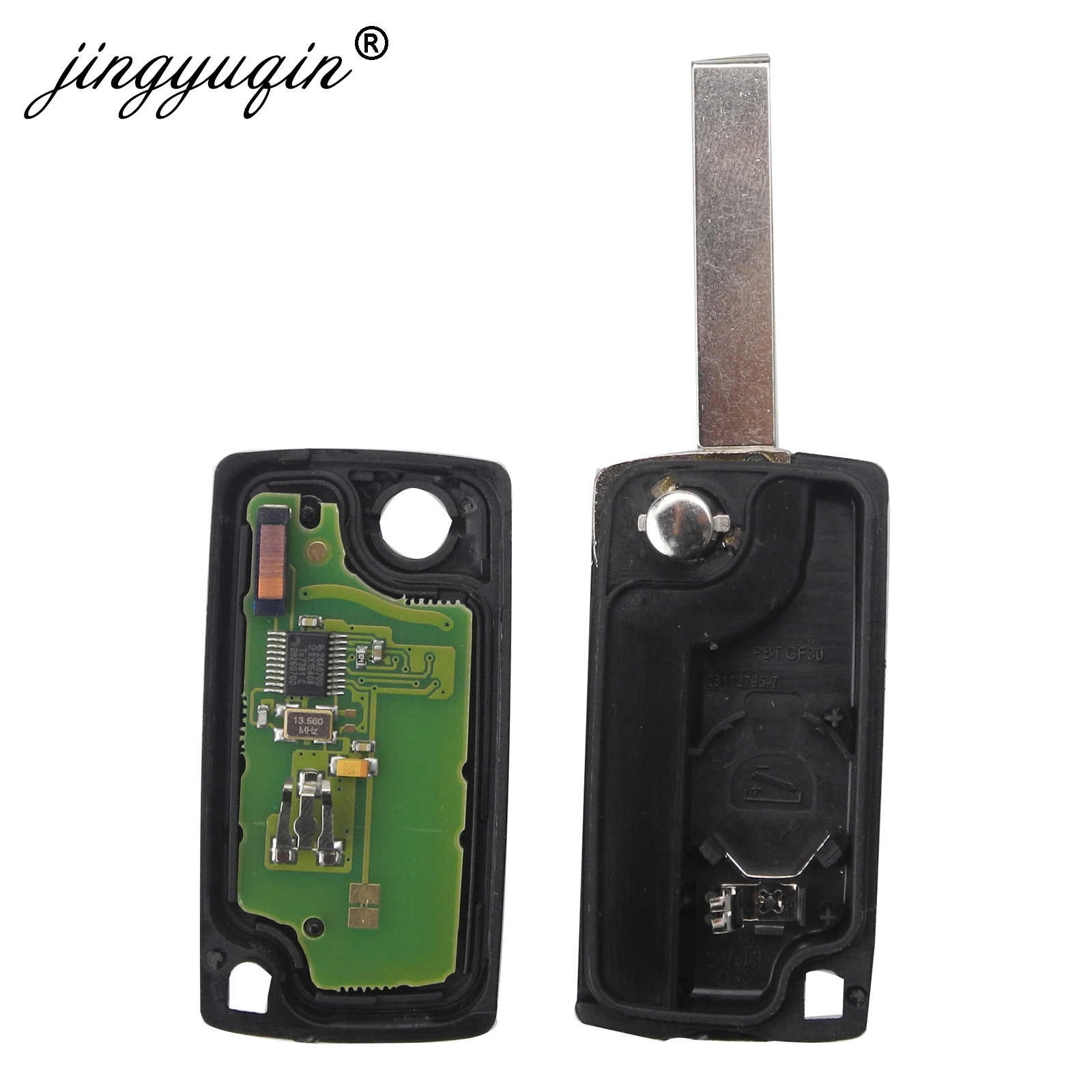 Image 5 - jingyuqin 434Mhz ASK FSK 2 Button Remote Flip Key Fob For Citroen C2 C3 C4 C5 C6 C8 Xsara Picasso CE0523 Ce0536 VA2/HCA Blade-in Car Key from Automobiles & Motorcycles