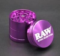 10pcs/lot high quality Diameter 53mm grinder crusher 4 layer Tobacco smoking cigarette grinders detector herb amoladora