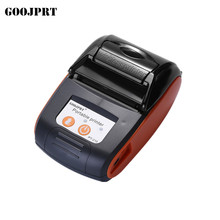 GOOJPRT 58mm Mini Text Printer Thermal Receipt Printer Universal Ticket Bill Printer Automatic Paper Cutting Machine for Stores