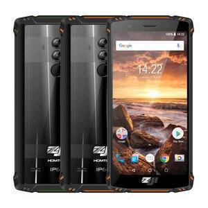 Image 5 - HOMTOM ZJI ZOJI Z9 Helio P23 IP68 مقاوم للماء 4G هاتف LTE الذكي ثماني النواة 5.7 بوصة 6GB RAM 64GB ROM 5500mAh كامل العصابات الهاتف المحمول