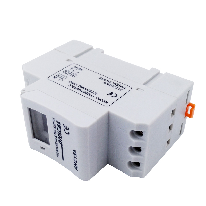 Timer AHC15A AC220V DC12V/24V LED Digital Time Relay Switch Weekly Power Programmable Time Relay ControlTimer AHC15A AC220V DC12V/24V LED Digital Time Relay Switch Weekly Power Programmable Time Relay Control